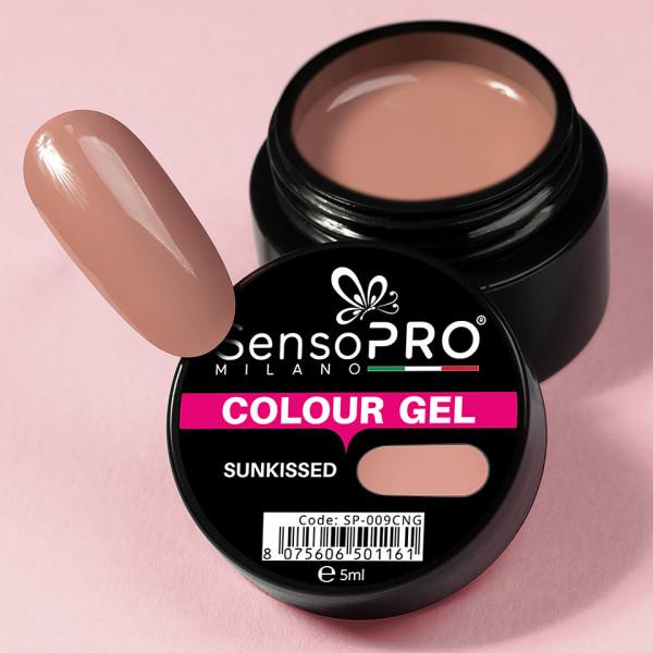 Poze Gel UV Colorat Sunkissed 5ml, SensoPRO Milano