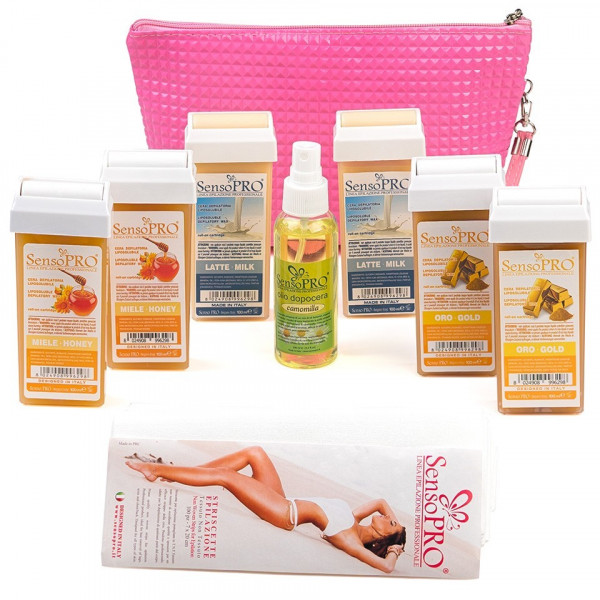 Poze Kit Epilare Ceara Consumabile SensoPRO Italia Smooth Skin