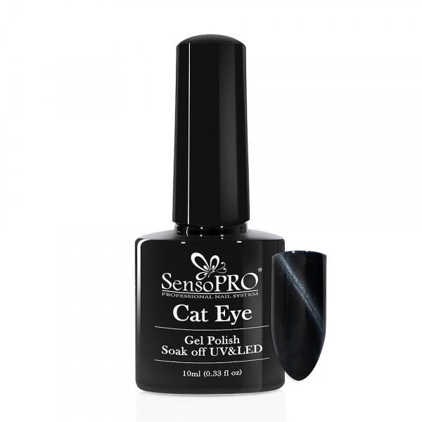 Poze Oja Semipermanenta Cat Eye SensoPRO 10ml - #022 DarkOcean