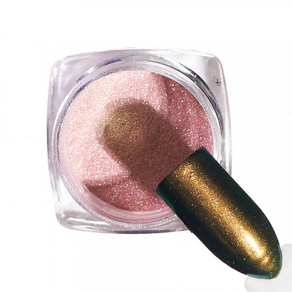Poze Pigment unghii Aurora #52 cu aplicator - LUXORISE