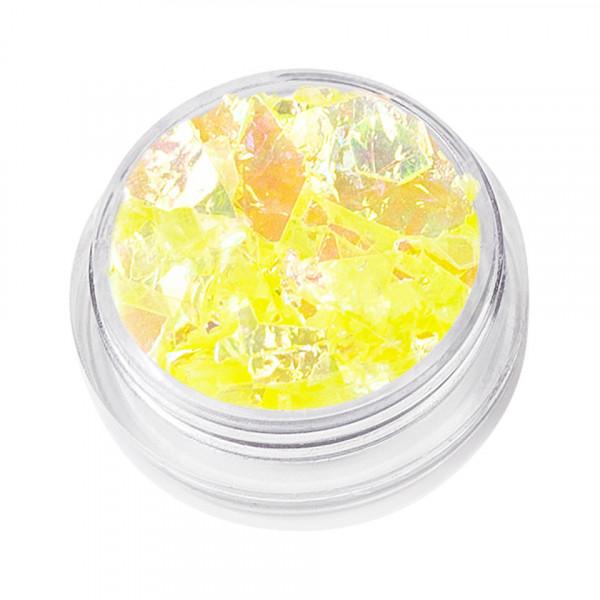 Poze Sclipici Unghii Wonderland - Sunny Yellow, 5g