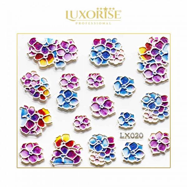 Poze Sticker 3D Unghii LUXORISE Artistry LX020