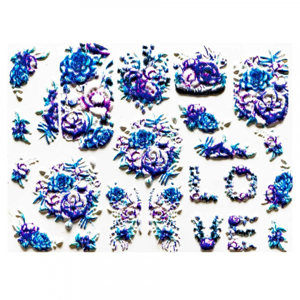 Poze Tatuaj 3D Unghii LUXORISE Artistry LX041