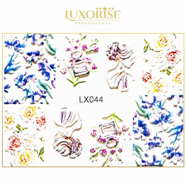 Poze Tatuaj 3D Unghii LUXORISE Artistry LX044