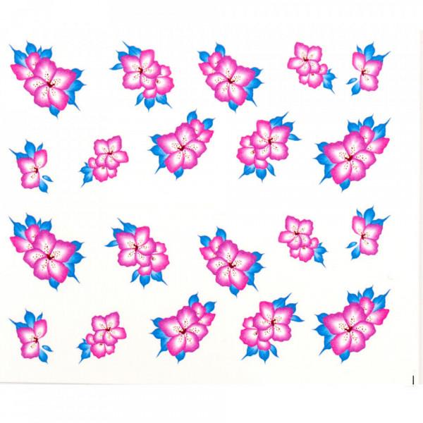 Poze Tatuaj unghii A024 flori