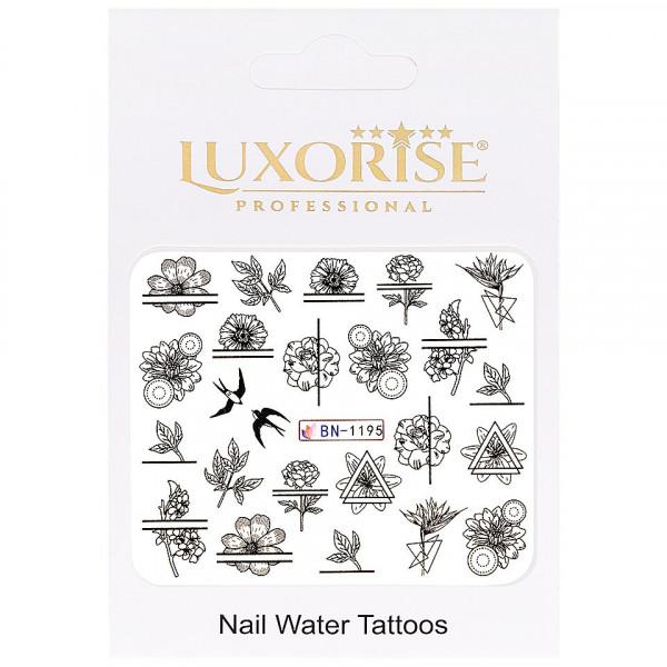 Poze Tatuaj unghii LUXORISE, Fantasy BN-1195