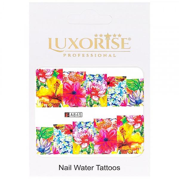 Poze Tatuaj unghii LUXORISE, Nature A845