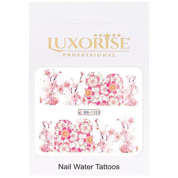Poze Tatuaj unghii LUXORISE, Nature BN-1323
