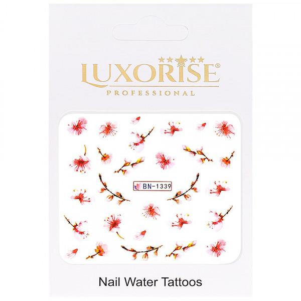 Poze Tatuaj unghii LUXORISE, Nature BN-1339