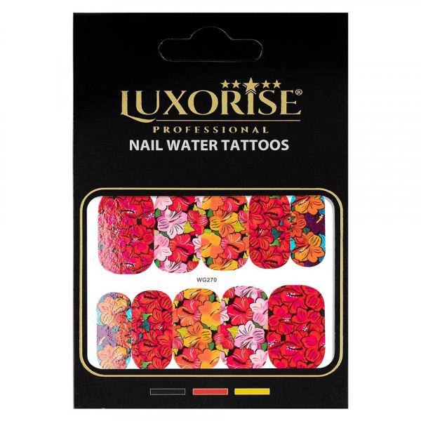 Poze Tatuaj unghii LUXORISE, Nature WG270