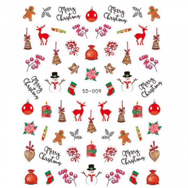 Poze Abtibild unghii SD-009 Jingle Bells