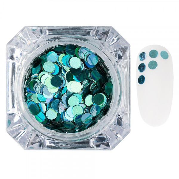 Poze Confetti Unghii LUXORISE Colorful Spots #010