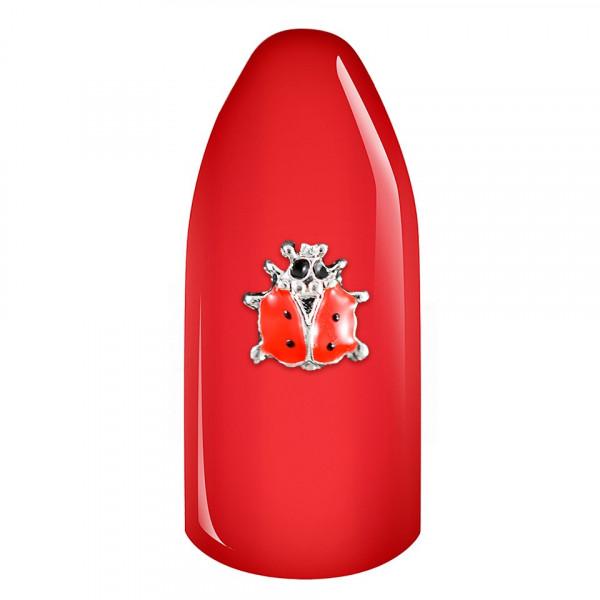 Poze Decoratiune Unghii 3D - Red Ladybug