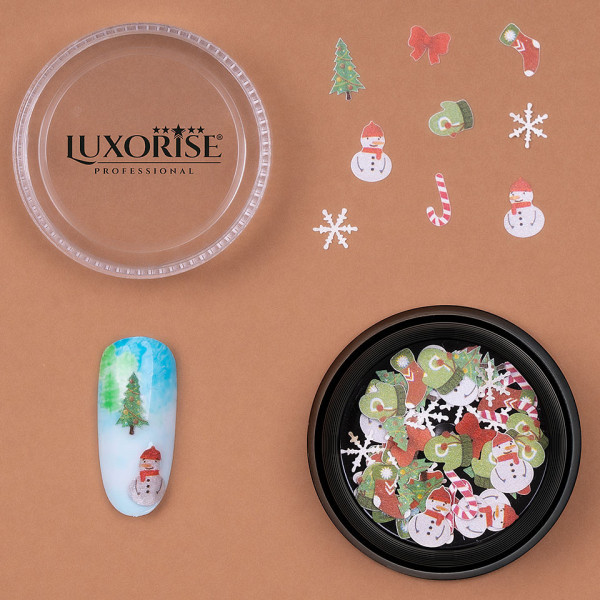 Poze Decoratiune Unghii Christmas Delights #11, LUXORISE