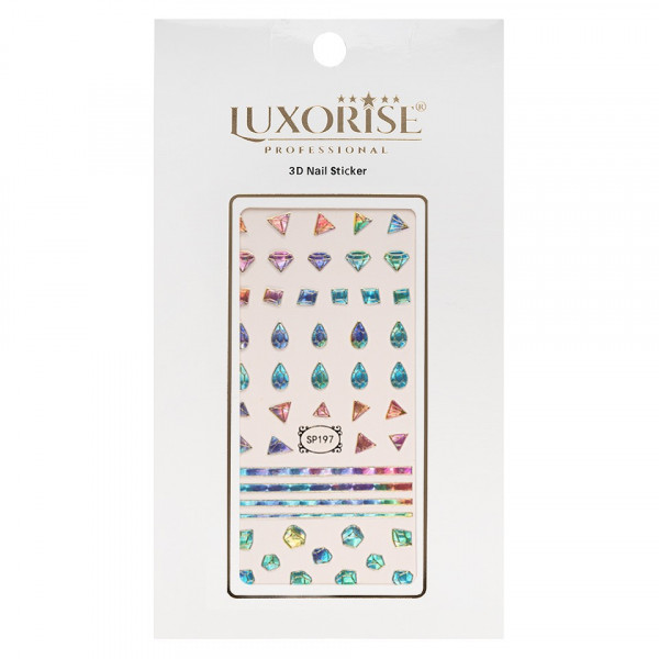 Poze Folie Sticker 3D unghii LUXORISE- SP197