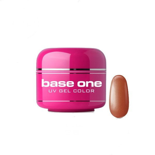 Poze Gel UV Base One Metallic Apple Cinnamon