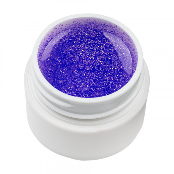 Poze Gel UV Color cu Sclipici ENS PRO #007 - Purple Gem