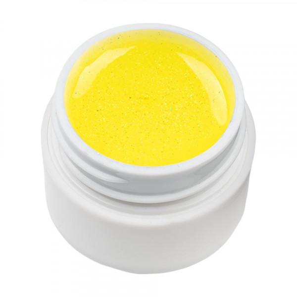Poze Gel UV Color cu Sclipici ENS PRO #020 - Sparkling Yellow