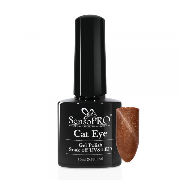 Poze Oja Semipermanenta Cat Eye SensoPRO 10ml - #023 DesertSands