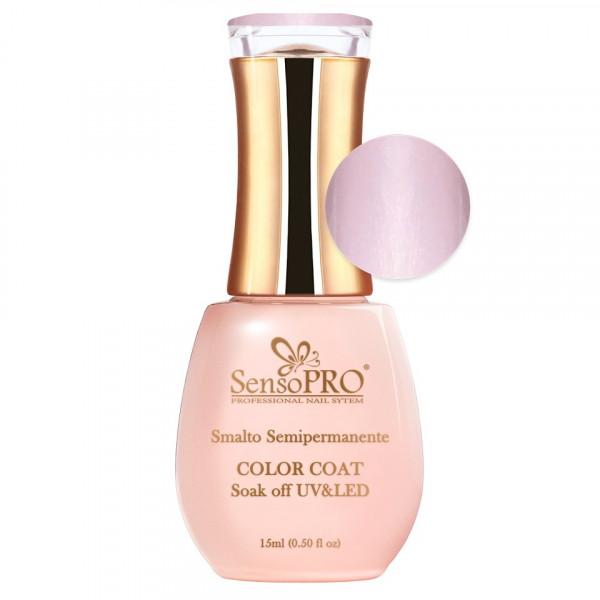 Poze Oja Semipermanenta SensoPRO 15ml culoare Roz pal - 022 Pink Pearl