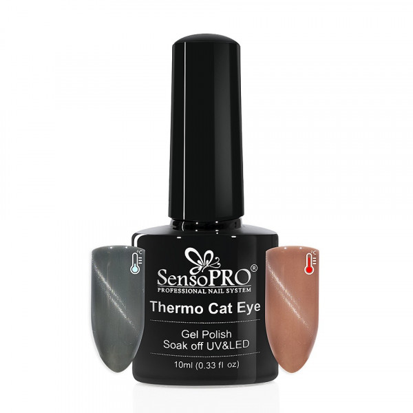 Poze Oja Semipermanenta Thermo Cat Eye SensoPRO 10 ml, #09