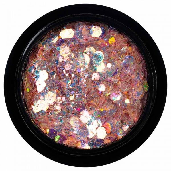 Poze Paiete Holografice Unghii LUXORISE Disco Lights YJ06