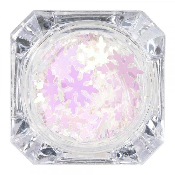 Poze Paiete Unghii LUXORISE Snowflakes #05