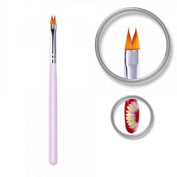 Poze Pensula unghii Luxury Nail pentru decoruri, design floral, linii fine, pictura 3D