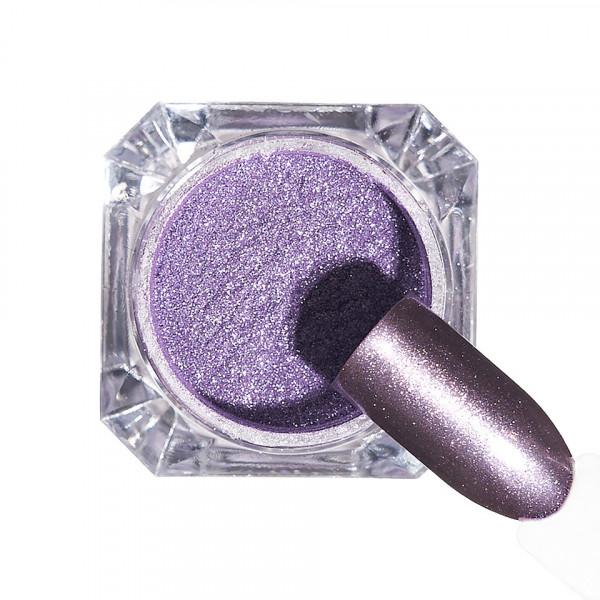 Poze Pigment unghii Chrome #124 cu aplicator - LUXORISE