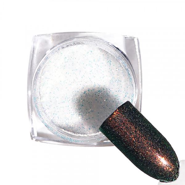Poze Pigment unghii Chrome #96 cu aplicator - LUXORISE