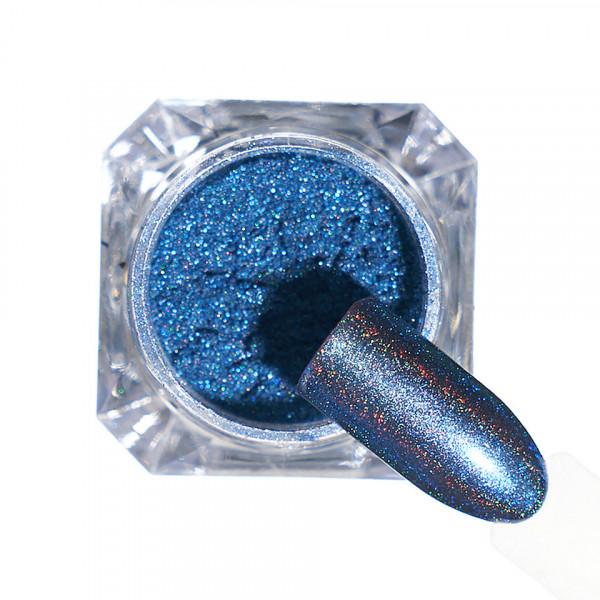 Poze Pigment unghii Holografic #114 cu aplicator - LUXORISE