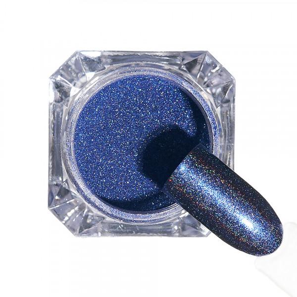 Poze Pigment unghii Holografic #147 cu aplicator - LUXORISE