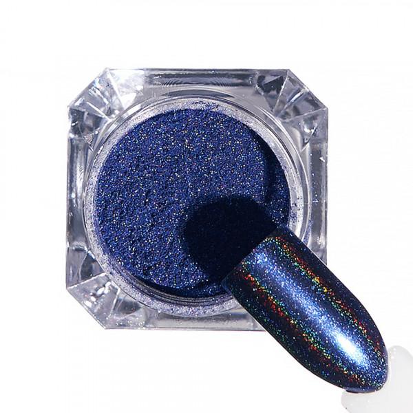 Poze Pigment unghii Holografic #63 cu aplicator - LUXORISE