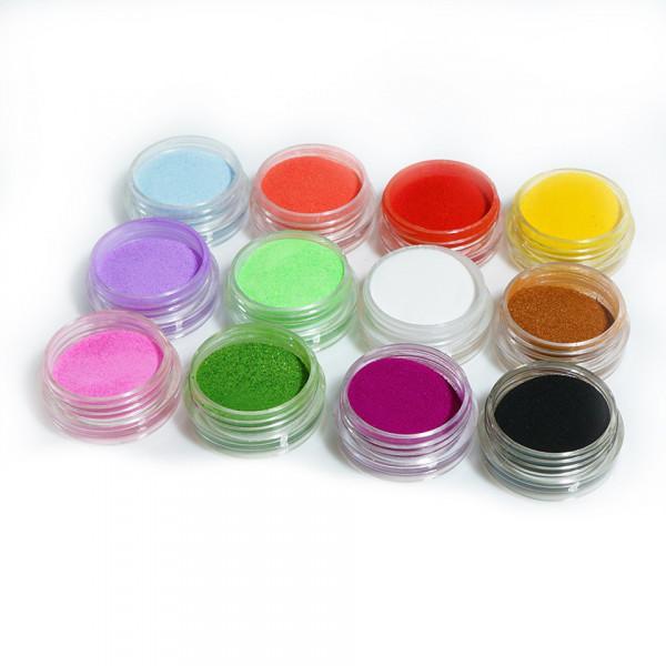Poze Pudra Acrilica colorata Fraulein38 - Set 12 bucati a cate 6g