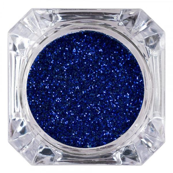 Poze Sclipici Glitter Unghii Pulbere LUXORISE, Admiral Blue #43