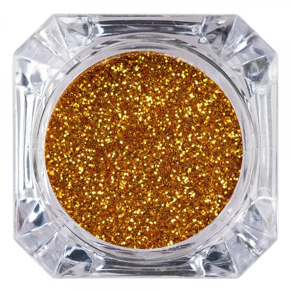 Poze Sclipici Glitter Unghii Pulbere LUXORISE, Aramiu #38