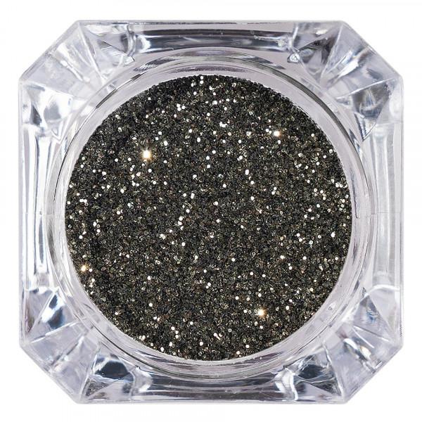 Poze Sclipici Glitter Unghii Pulbere LUXORISE, Caviar #06
