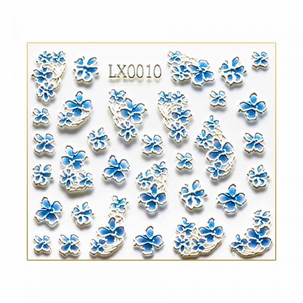 Poze Sticker 3D Unghii LUXORISE Artistry LX0010