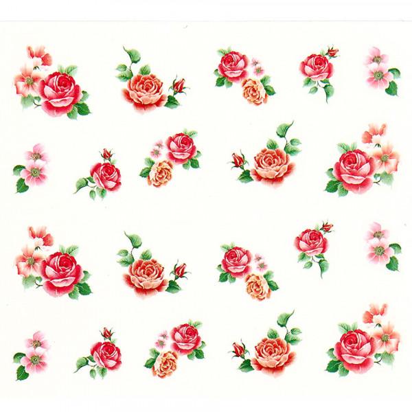 Poze Tatuaj unghii A027 flori