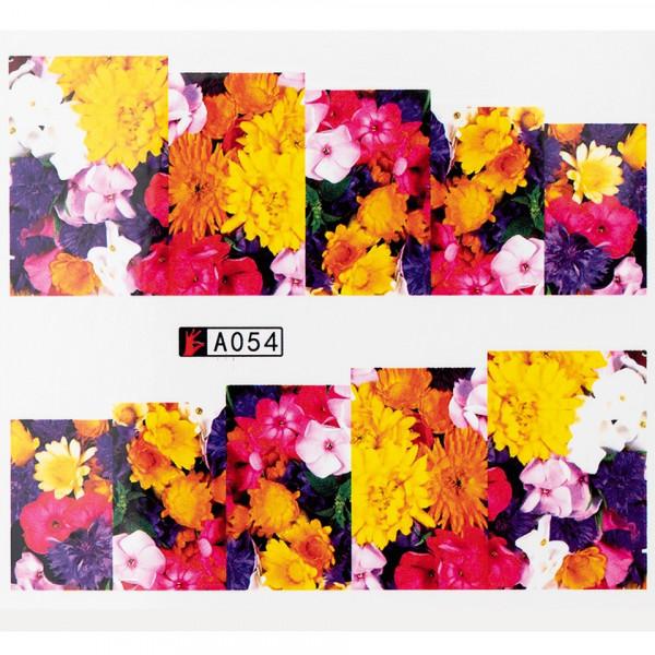 Poze Tatuaj unghii A054 flori