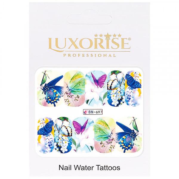 Poze Tatuaj unghii LUXORISE, Butterfly BN-697