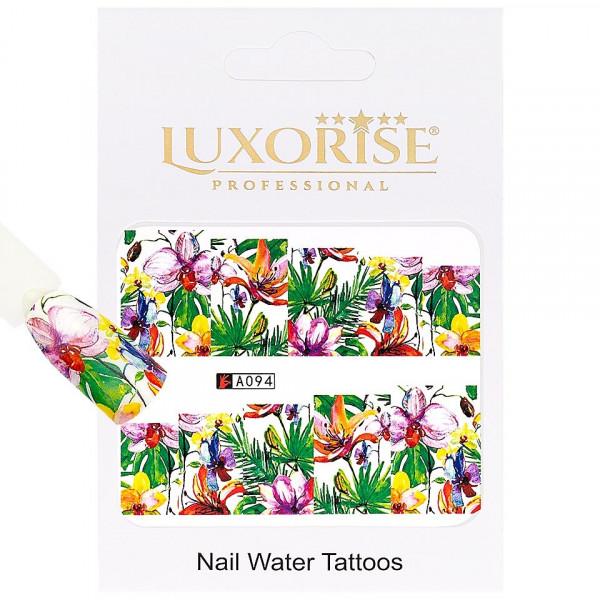 Poze Tatuaj unghii LUXORISE, Nature A094