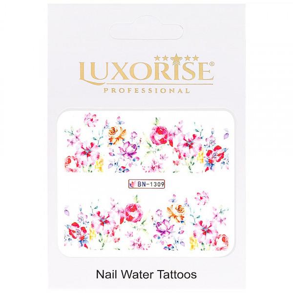Poze Tatuaj unghii LUXORISE, Nature BN-1309