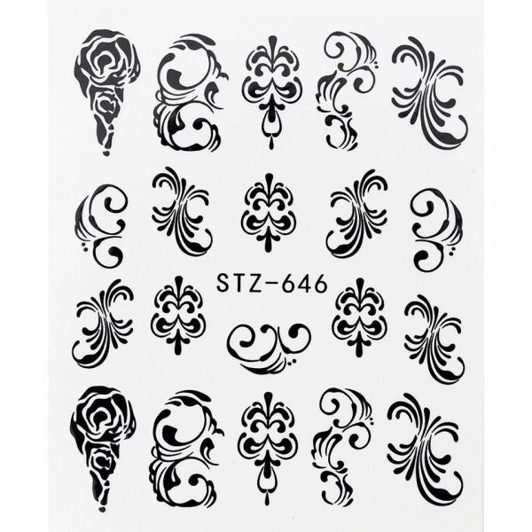 Poze Tatuaj unghii STZ-646 abstract