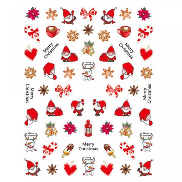 Poze Abtibild unghii SD-010 Jingle Bells