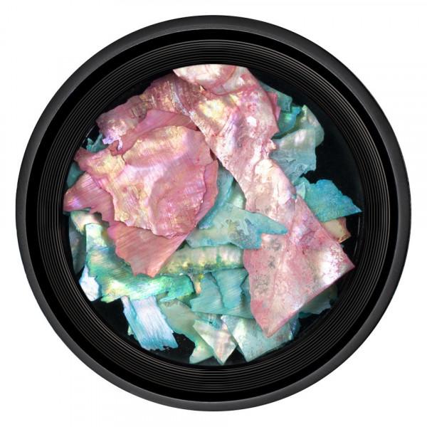 Poze Decor Unghii tip Scoica Pisata LUXORISE - Multicolor