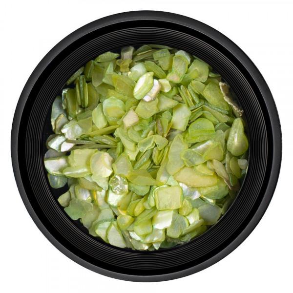 Poze Decor Unghii tip Scoica Pisata LUXORISE - Olive