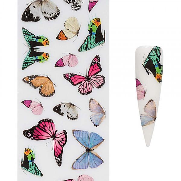 Poze Folie de Transfer Unghii LUXORISE #419 Butterfly