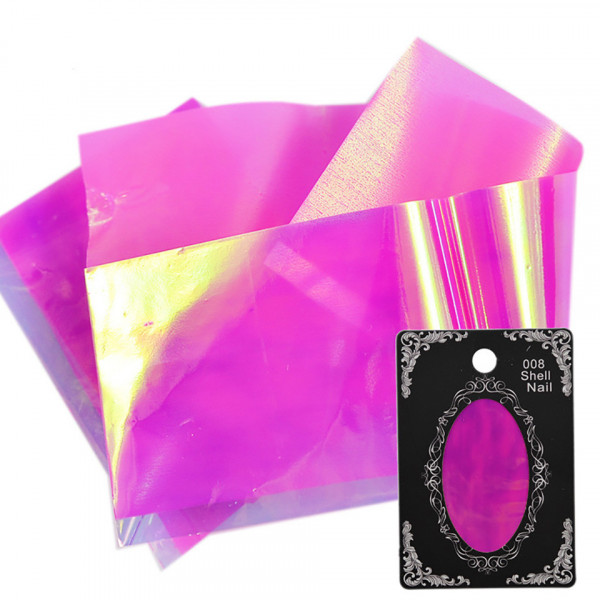 Poze Folie Sticker unghii - STRAWBERRY ICE