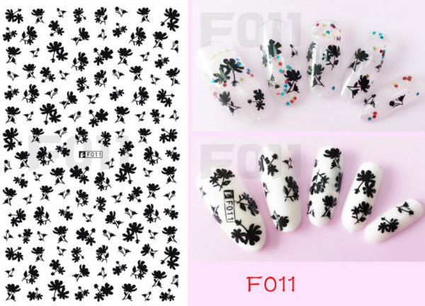 Poze Folie Stickere unghii, model F011 Wonderland